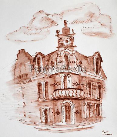 a house in berck a city