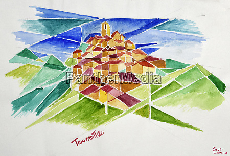 this is a cubist view of