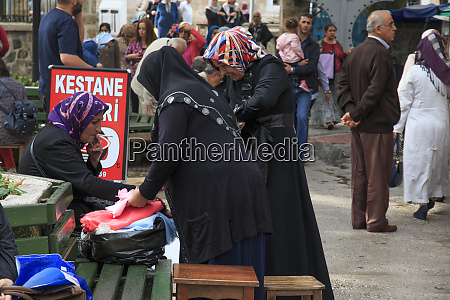 turkey marmara bursa women looking at