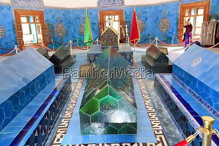 turkey marmara bursa green mosque and