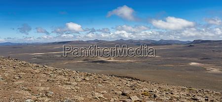 AEthiopische bale gebirge landschaft AEthiopien afrika