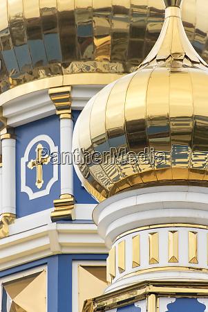 kuppel, detail, russisch-orthodoxe, kirche, odessa, ukraine. - 27684941
