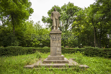 armenia yeghegnadzor mikoyan park with statue