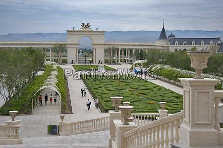 china xinjiang province shihezi view of