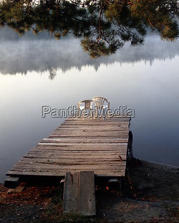 usa minnesota bwca lake one dock