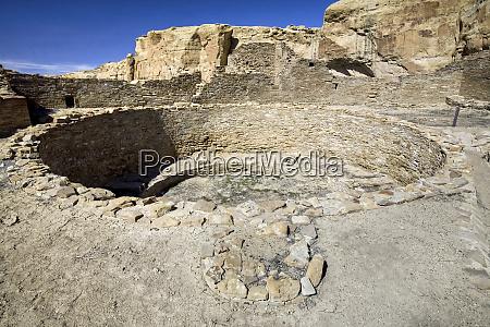 usa new mexico chaco canyon kiva