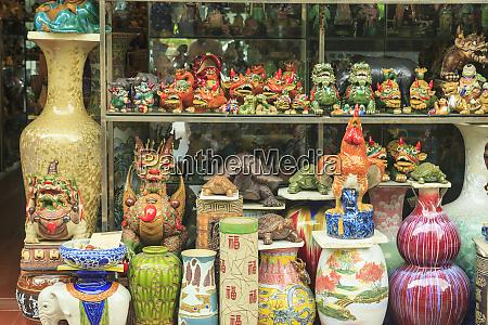 ceramics at storefront near nanfeng kiln
