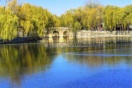 bridge jade flower island beijing china