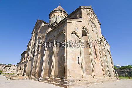 svetitskhoveli cathedral in mtskheta the old