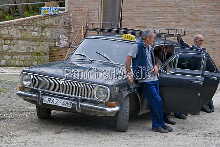 taxi mit fahrer sighnaghi georgien