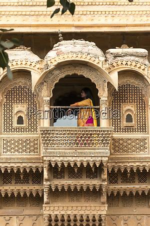 jain tempel golden sandstone fort jaisalmer