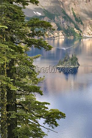 usa oregon crater lake np a