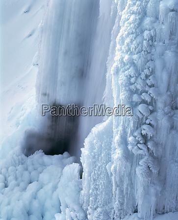 usa oregon paulina falls the water