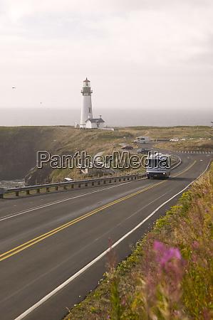 rv yaquina head lighthouse oregon coast