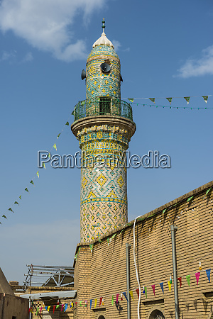 old mosque in the citadel of