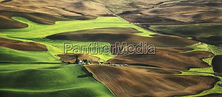 usa washington palouse farming landscape credit