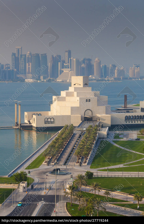 katar, doha, museum, für, islamische, kunst, entworfen, von, i.m. - 27719244