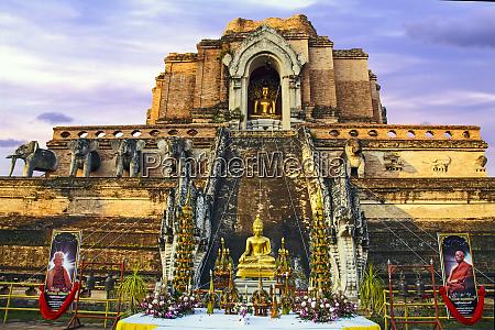 chiang mai thailand ancient ruins of