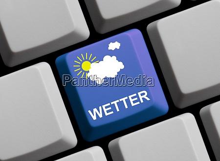 informationen zum wetter online in deutscher