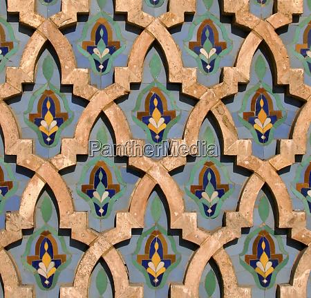 nordafrika marokko casablanca hassan ii moschee