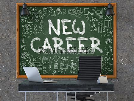 neue karriere an der tafel mit