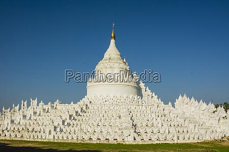 myanmar mandalay mingun hsinphyumae pagode