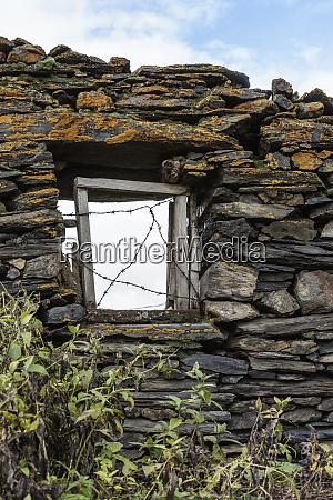 georgia mtskheta juta a window in