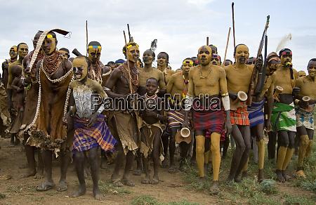 africa ethiopia southern omo labuk karo