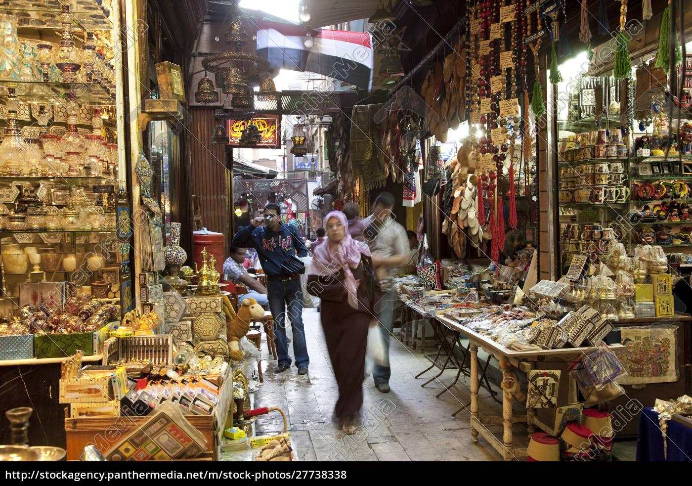 basar, mit, ägyptischer, flagge, khan, al-khalili, islamisches, kairo, Ägypten - 27738338