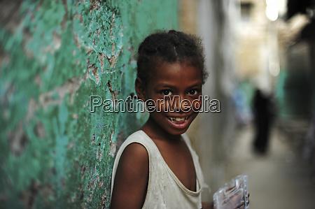 kenia, lamu, archipel, lamu, porträt, eines, lächelnden, mädchens - 27741154