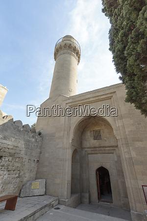 aserbaidschan baku der palast der shirvanshahs