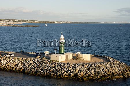western australia fremantle port area on