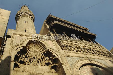 egypt kairo moschee aussen