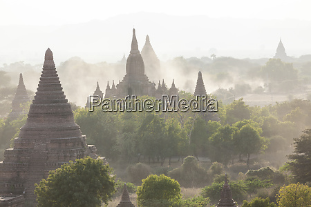 ancient temple city of bagan also