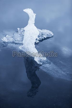 europa suedostisland skaftafell nationalpark lake jokulsarlon