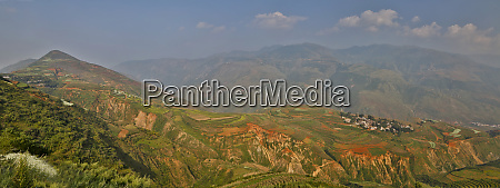 kunming dongchuan red land china with