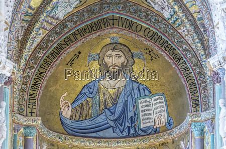 europa italien sizilien cefalu kathedrale von