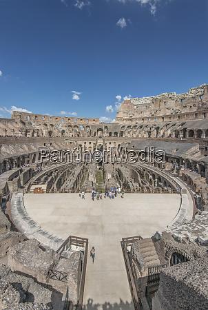 europa italien rom kolosseum