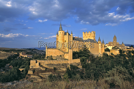 europe spain segovia the alcazar a