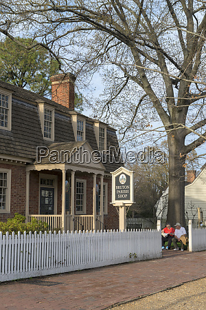 usa virginia williamsburg colonial williamsburg bruton