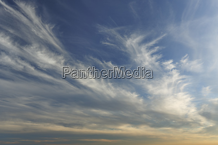 sky just before sunset palouse region