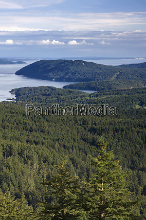 usa washington state san juan islands