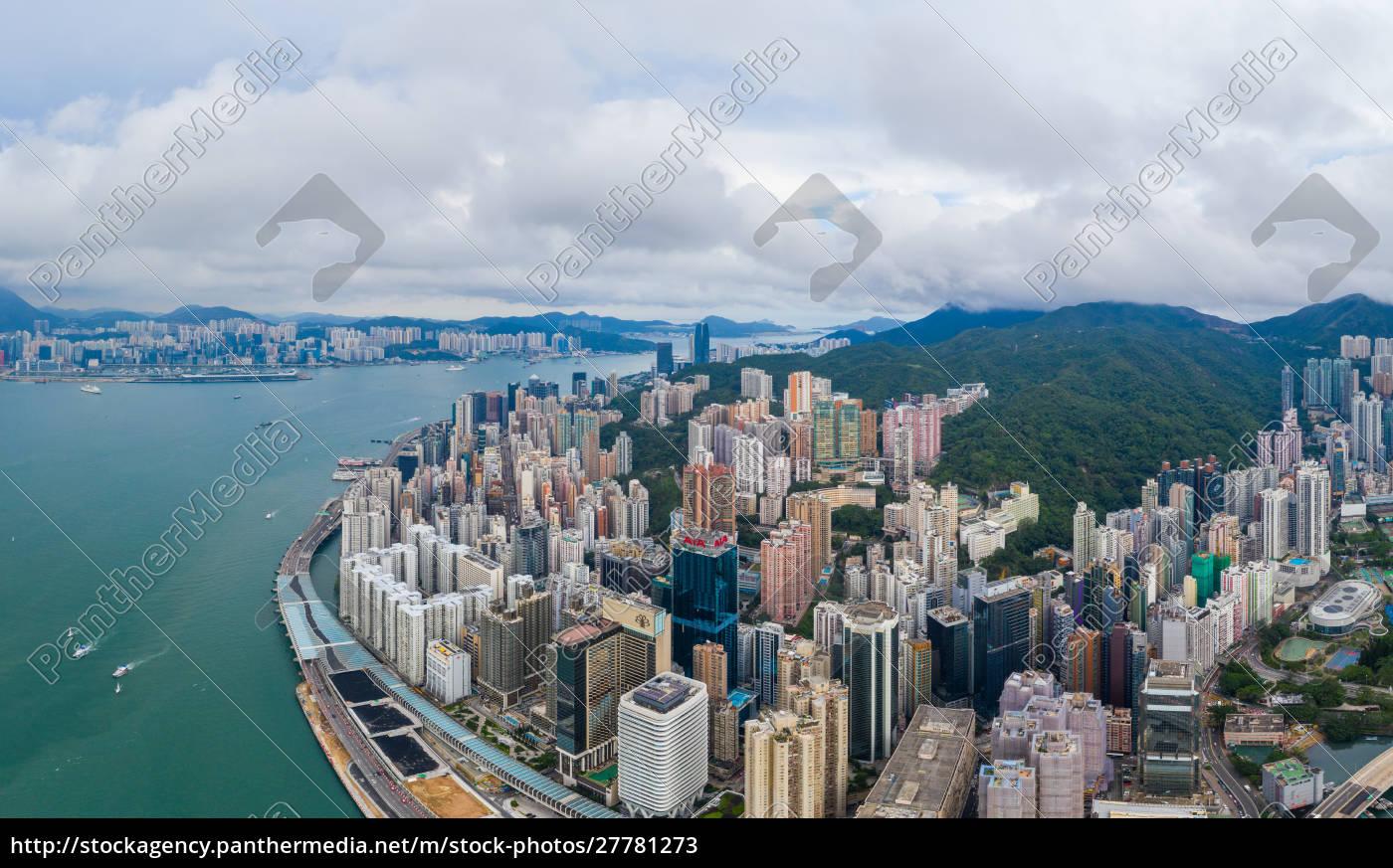 tin, hau, hongkong, 01, juni, 2019:, top-ansicht - 27781273