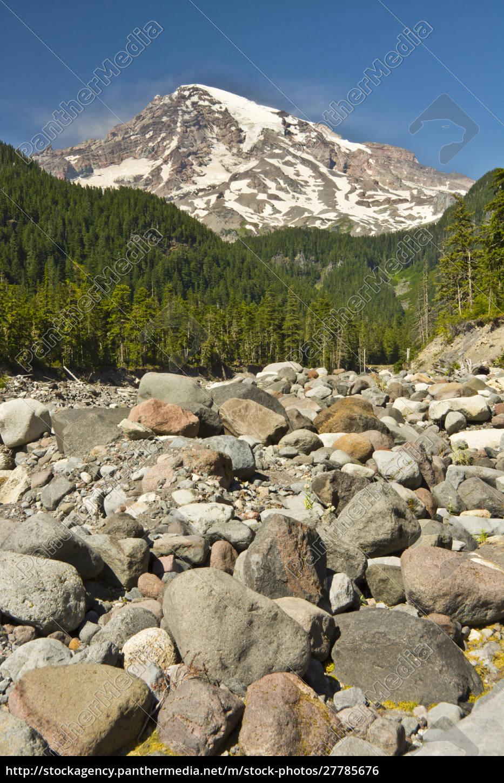 mount, rainier, nisqually, river, area, mount, rainier, national - 27785676
