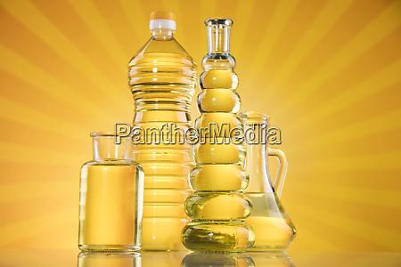 rapsoel sonnenblumenoel olivenoel auf sonnenburst orange