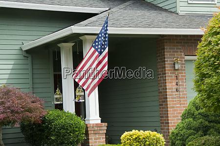 4 juli dekoration amerikanische flagge portland