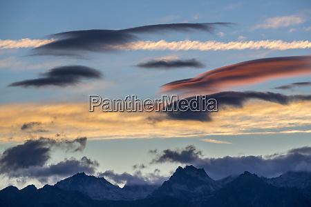 usa washington state leavenworth colorful clouds