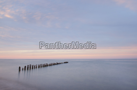 lake superior seen from beach at