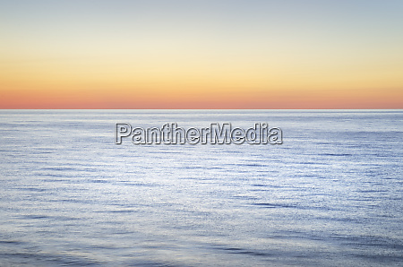twilight colors over lake superior pictured