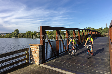 road bicyclists on tart trails in